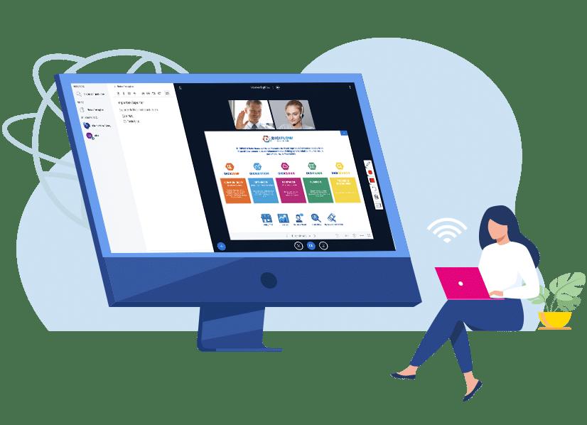 La videoconférence par Digiflow solutions