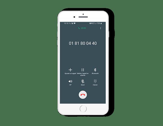 Visioconférence en audio avec DIGICONF